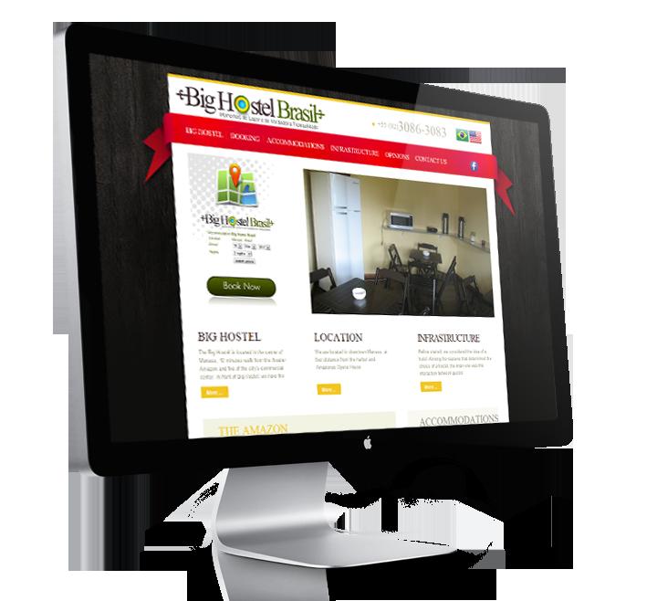 Site BIGHOSTEL.COM.BR